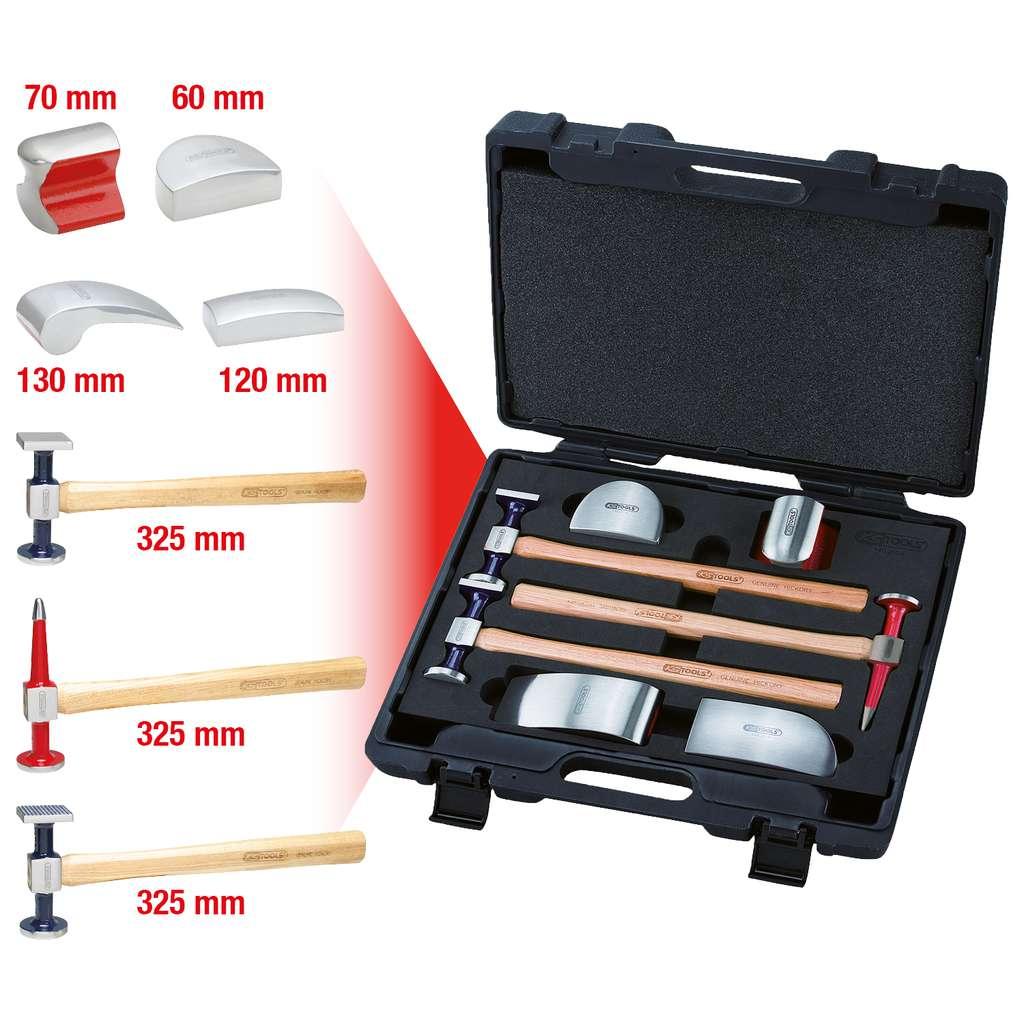 KS Tools 140.2116 Karosserie-Absatz-Ausbeuleisen 60mm