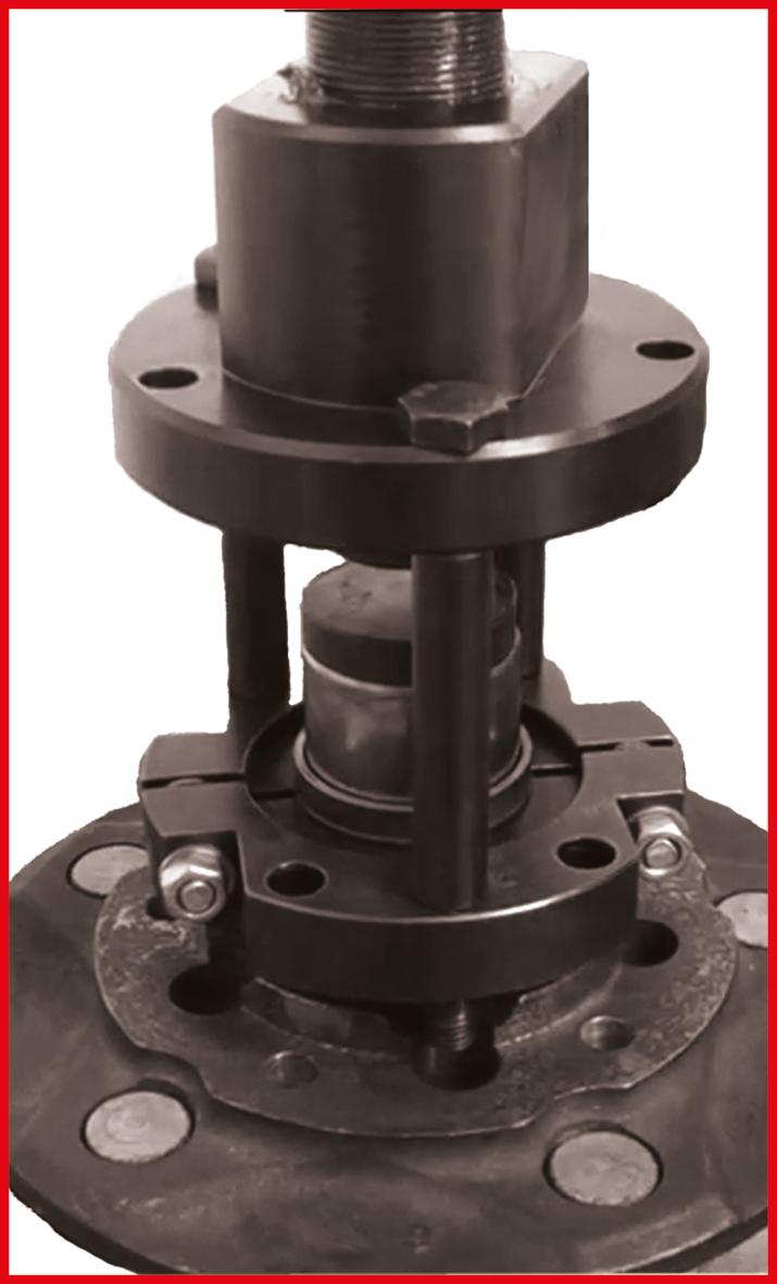 Change wheel bearings on Ford Transit professionally | van KS TOOLS
