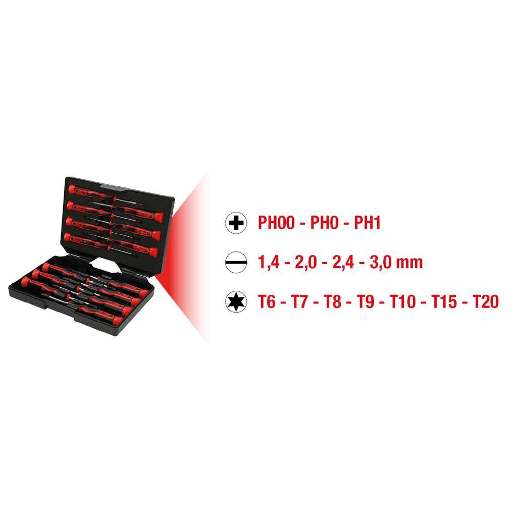 slot 2mm KS Tools 500.7109 Precision screwdriver