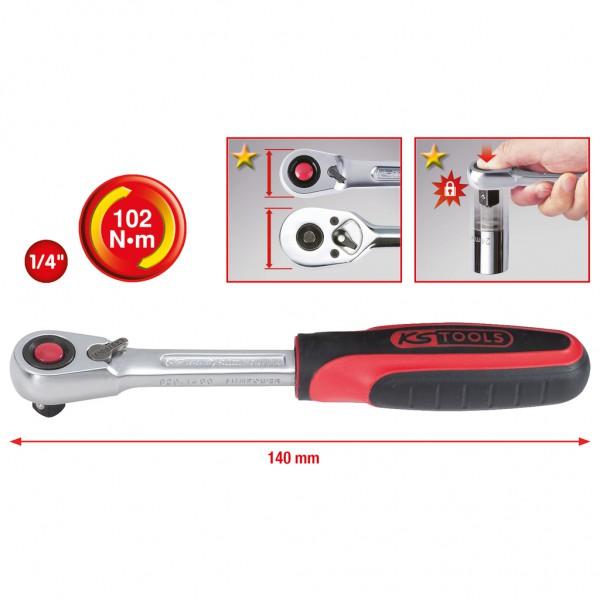 KS Tools 577.0352 Llave Inglesa con carraca 0-32 mm